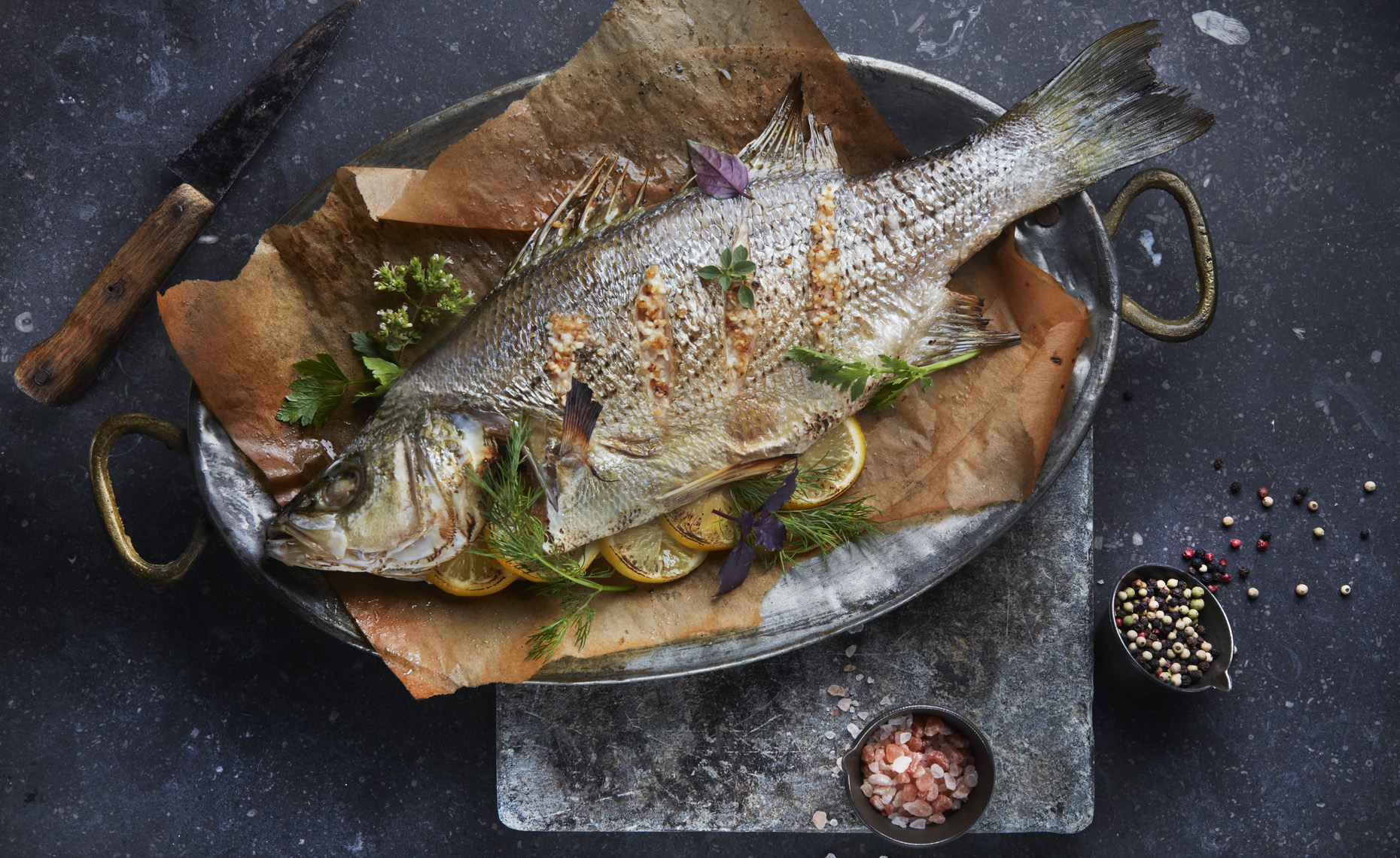 san francisco food  photographer, New York, Baked Bass