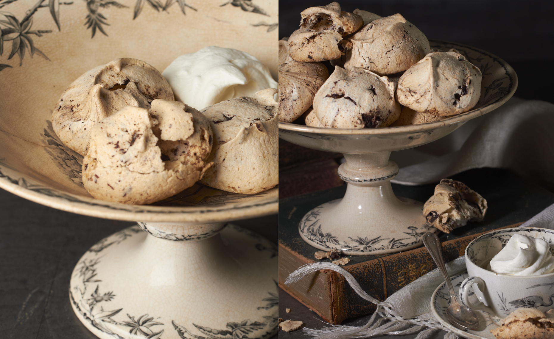 Chocolate Merengue Cookies, Rose Hodges Food Photography, San Francisco
