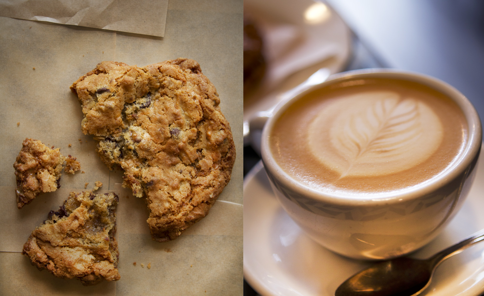 food  photographer,san francisco ,Chocolate Chip Cookie Cappuccino ]