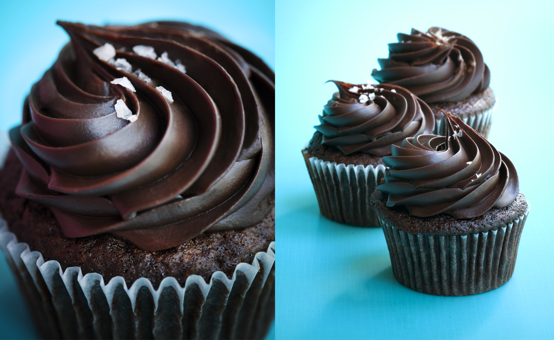 Chocolate Cupcakes, Rose Hodges Food Photography, San Francisco