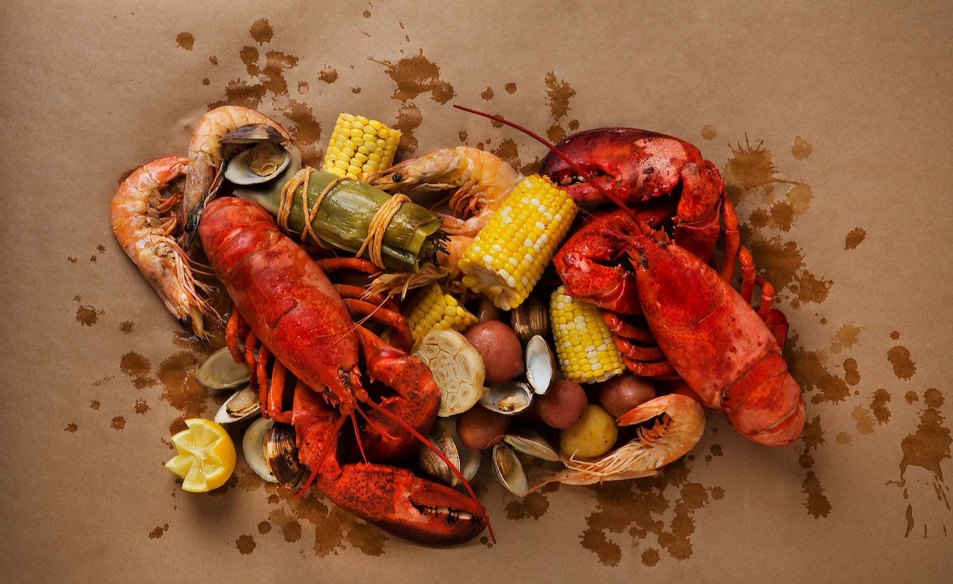 Lobster Clam Bake, Stew, Rose Hodges Food Photography
