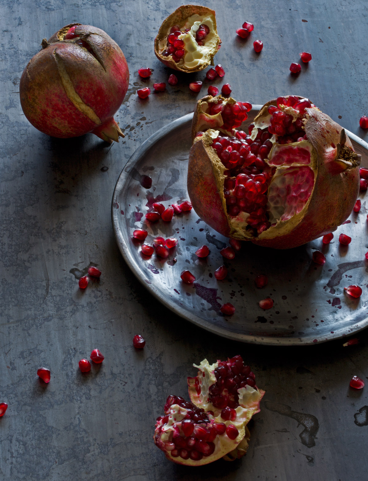 Persimmons, Rose Hodges Food Photography