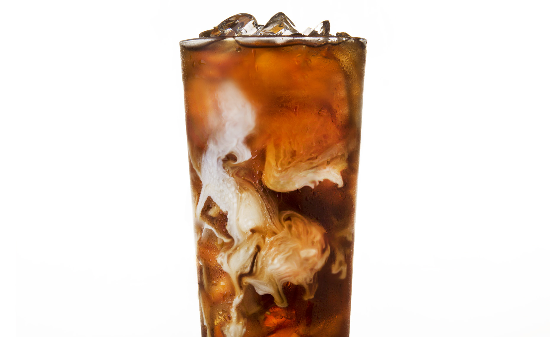 iced cold coffee, Rose Hodges Food Photography San Francisco